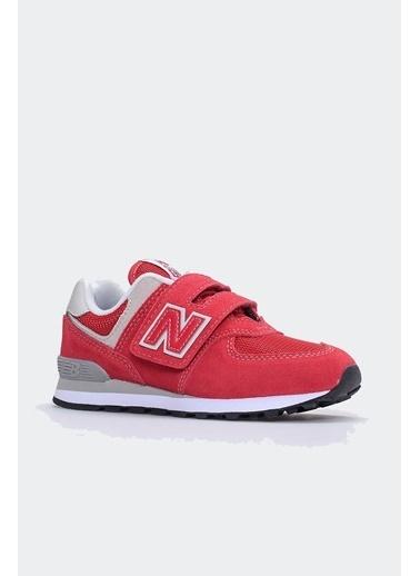 New Balance New Balance YV574 Eva Teknolojili Orta n Ve Topuk Cırt Bant Çocuk Ayakkabısı Kırmızı